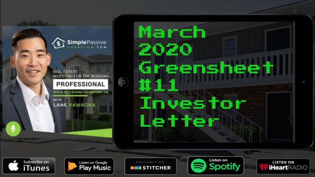 #12 – 2020.04 – The SPC Greensheet